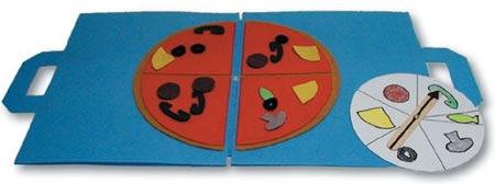 Pizza Game - The Public television program Hands On Crafts for kids